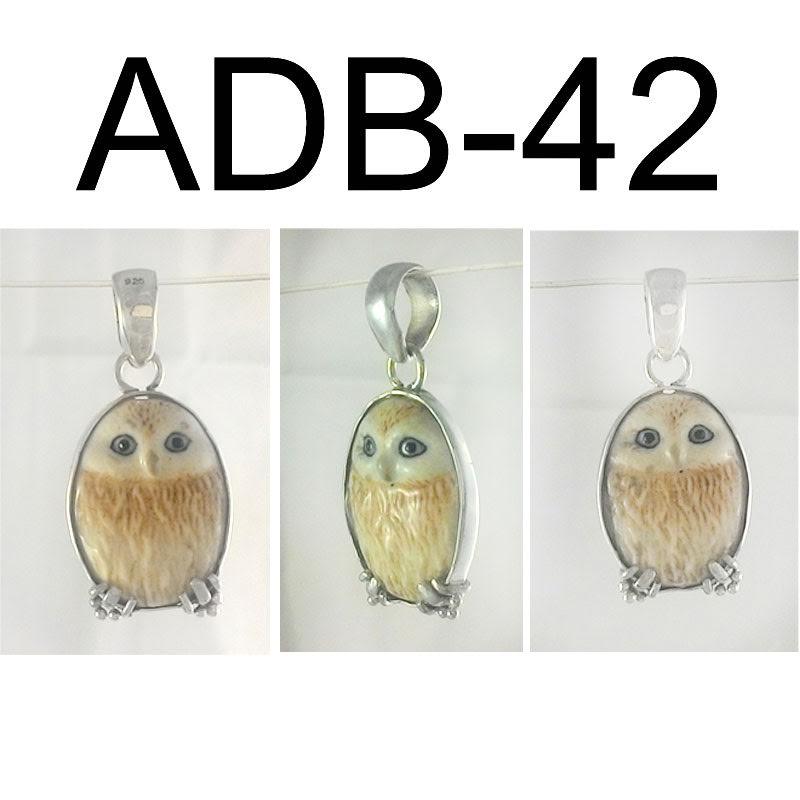 Two Sided Owl Pendant – ADB42