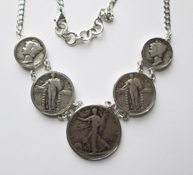 Multi Coin Necklace – C10