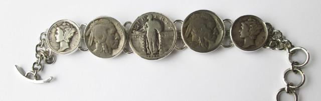 Silver Coin Bracelet – CX1