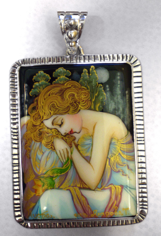 Night's Rest – By Alphonse Mucha – EA161 – SM