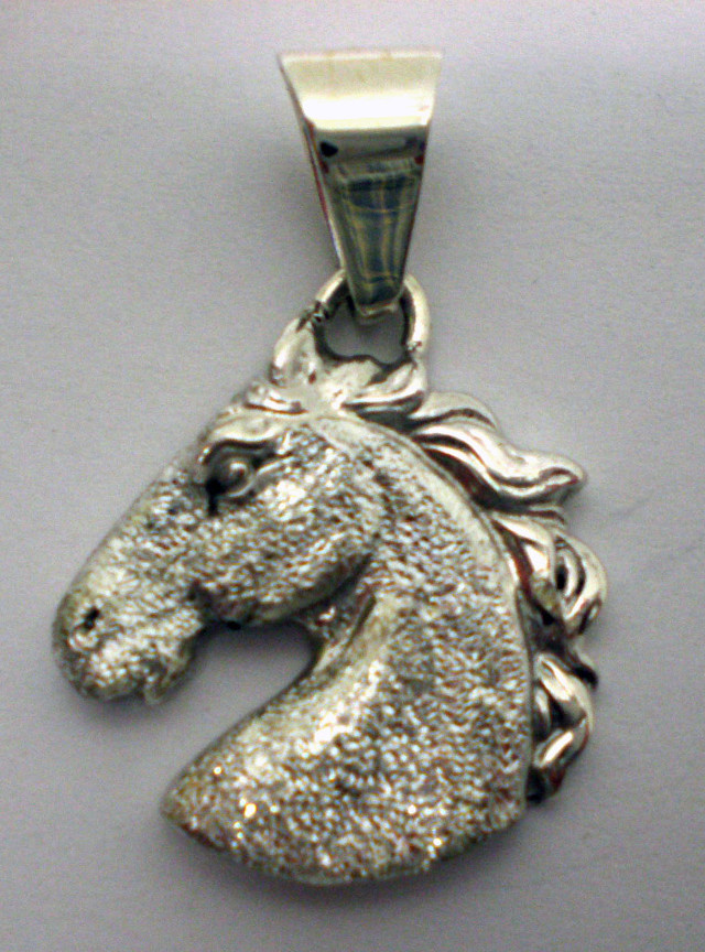 Horse Head Pendant Rough Cut – HHD-RC