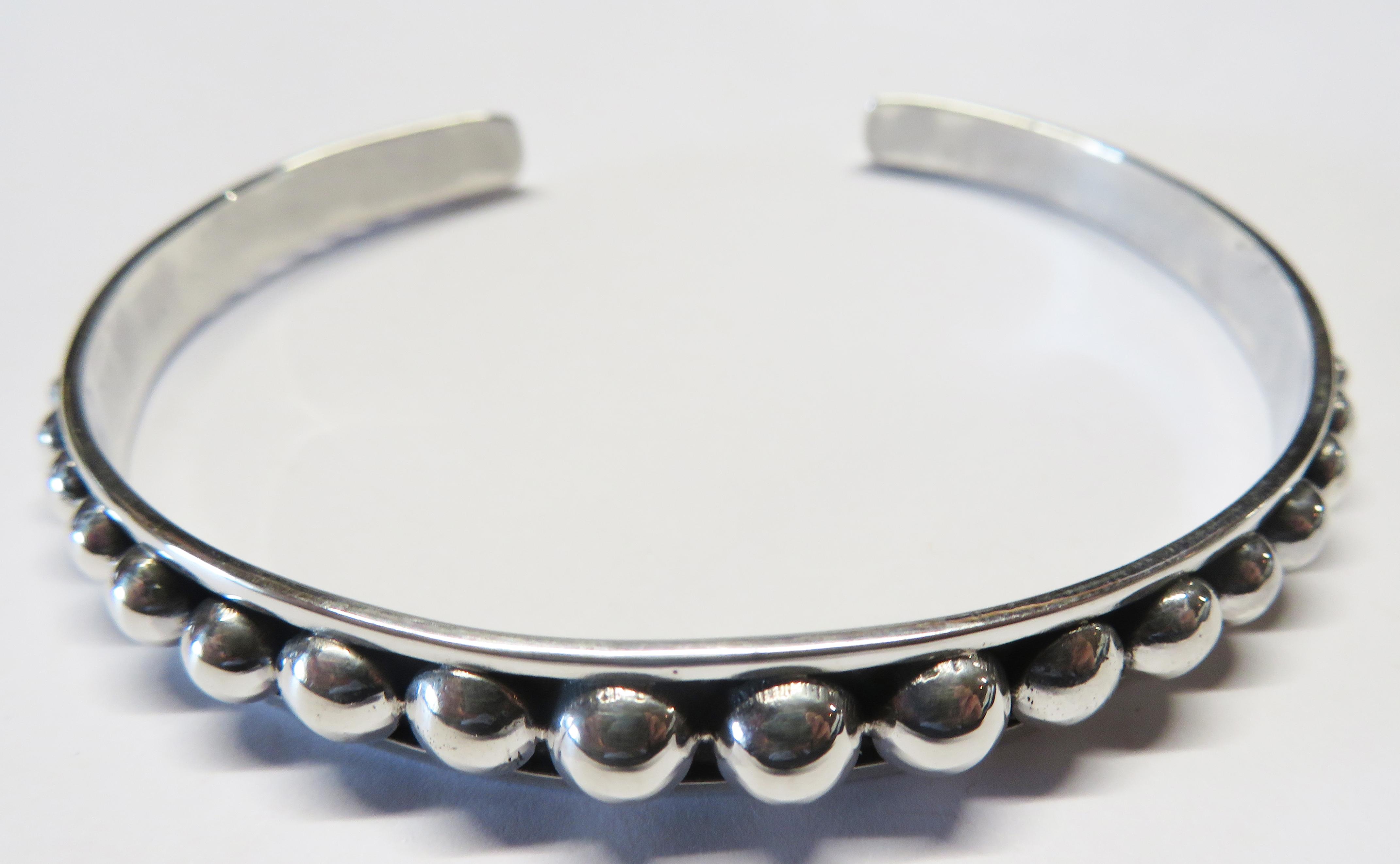 Silver Cuff Bracelet – Cuff