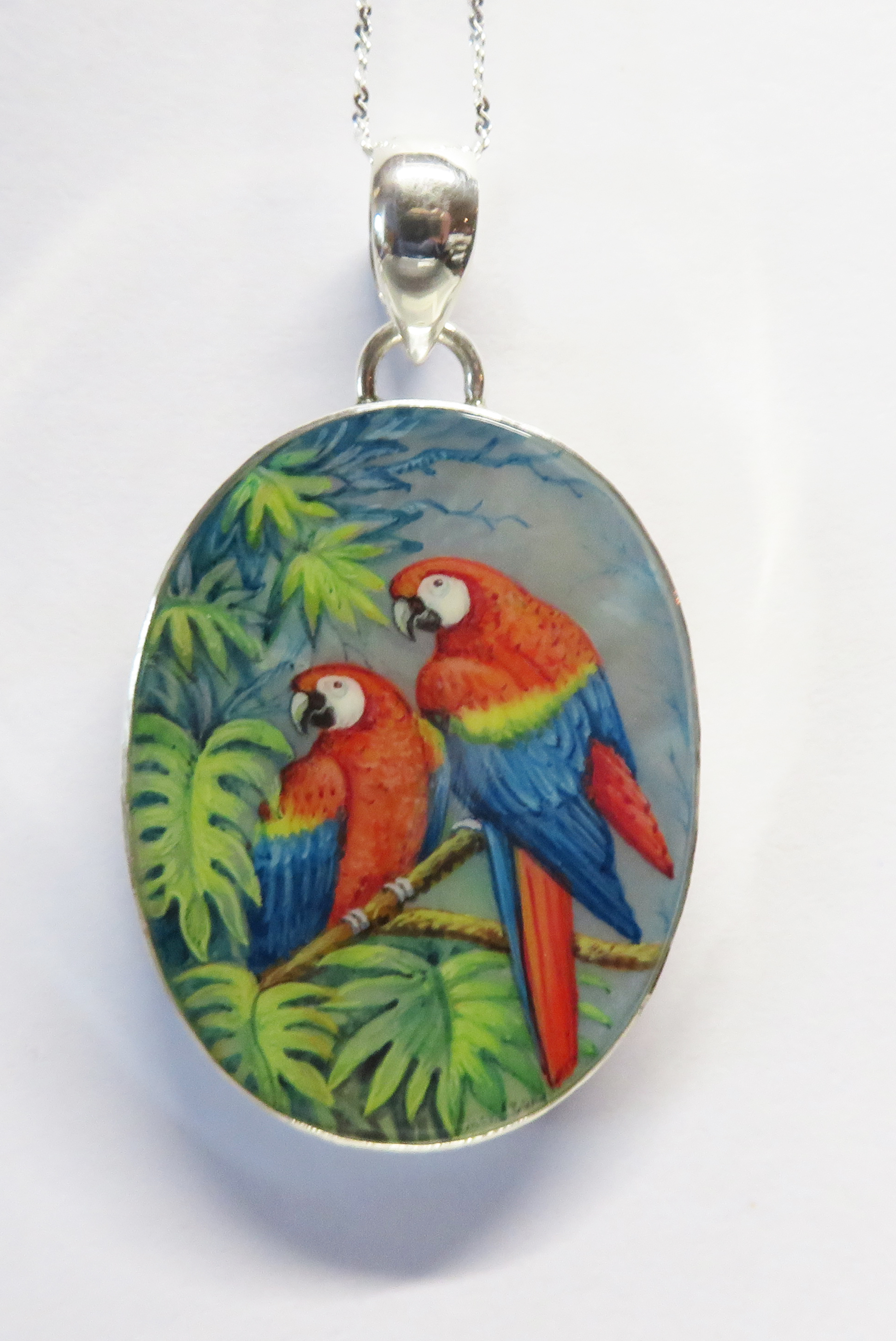 Macaw Parrot pendant – HP10MP