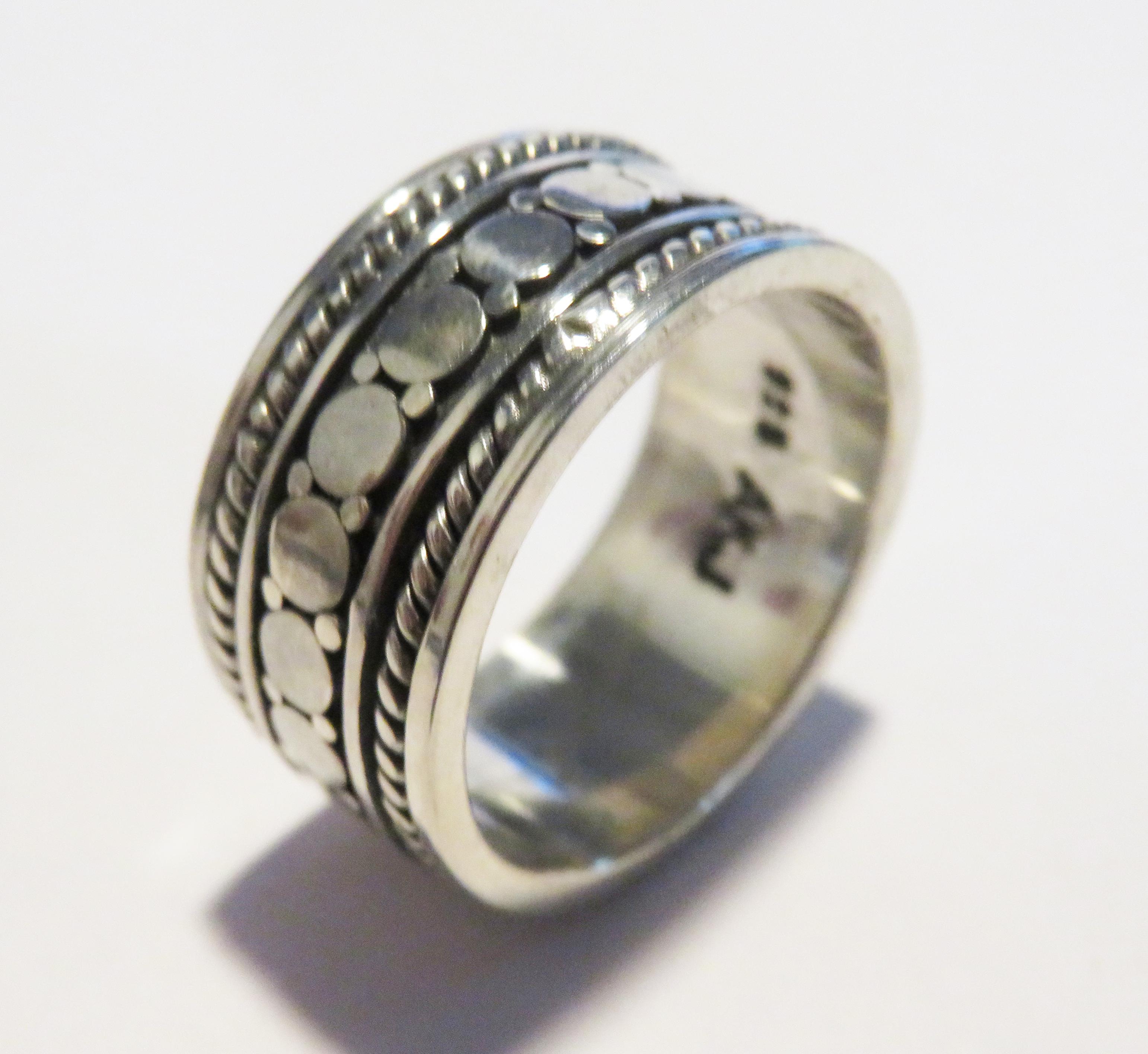 Silver Spinner ring – SBP2